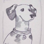 Caricature of Dalmatian
