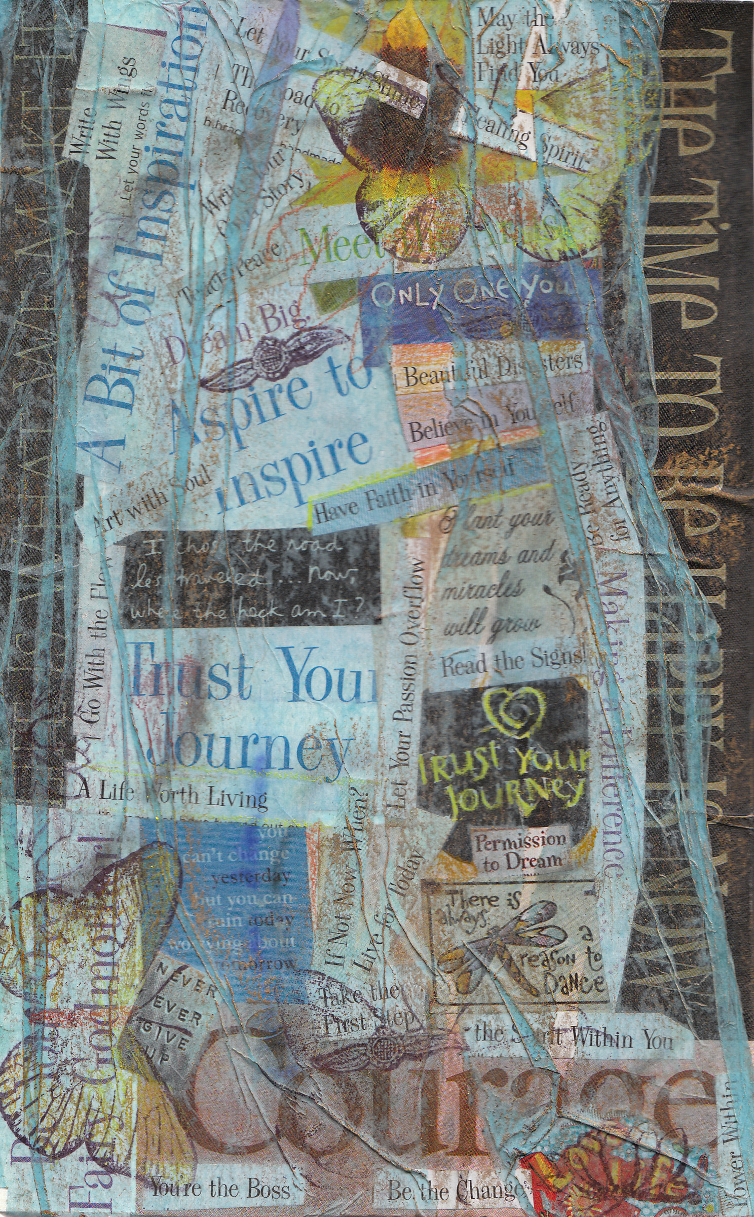 My Trial of Collage Therapy