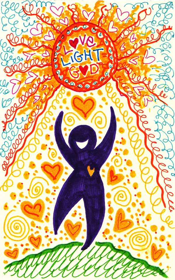 LOVE = LIGHT= GOD