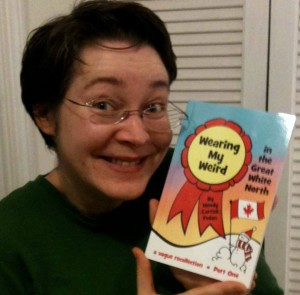 Me and my book!